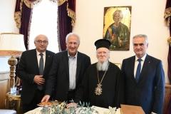 20.11.2019-Η Διακομματική Αντιπροσωπεία της Ειδικής Μόνιμης Επιτροπής Ελληνισμού της Διασποράς, στο Φανάρι, συνάντηση με τον Οικουμενικό Πατριάρχη κ.κ. Βαρθολομαίο