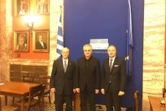 12.02.19- Με το Προεδρείο της Ελληνικής Κοινότητας Αλεξάνδρειας