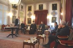 21.11.2019-Επίσημη επίσκεψη της Διακομματικής Αντιπροσωπείας της Επιτροπής Ελληνισμού της Διασποράς της βουλής, στη Θεολογική Σχολή της Χάλκης
