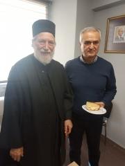 Κοπή πίτας με τους συνεργάτες του γραφείου της Θεσσαλονίκης 2.01.2020